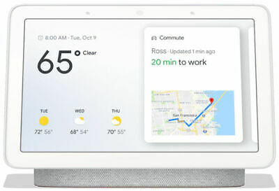 AU72 • Buy Google Home Hub - Chalk