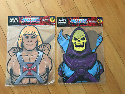 $39.99 • Buy Masters Of The Universe- He-man/Skeletor Paper People By Super7