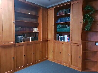 AU1000 • Buy Beautiful Wooden Cupboard/bookcase For Study In Very Good Condition