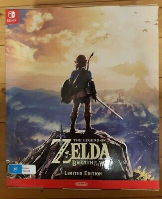 AU399 • Buy The Legend Of Zelda: Breath Of The Wild Limited Edition (Nintendo Switch, 2017)