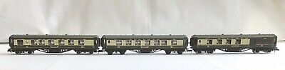 3 Graham Farish N Gauge Pullman Coaches (2 X 0646, 1 X 0656) Boxed • 10£