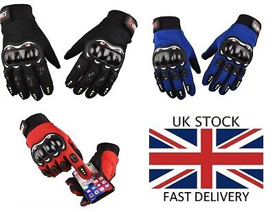 £5.50 • Buy Motocross MX Racing Gloves Men Trial Kart Off Road Mountain Bike Cycling Scooter