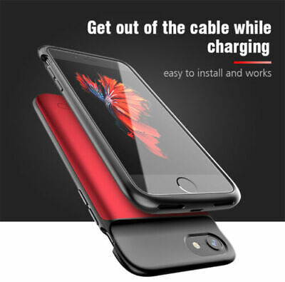 Battery External Power Charger Charging Case Cover For IPhone 6 7 8 Plus X/XR/11 • 17.49£
