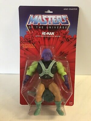 "$86.99 • Buy Masters Of The Universe Giants: He-man 12"" Test Shot C W Mailer By Mattel"
