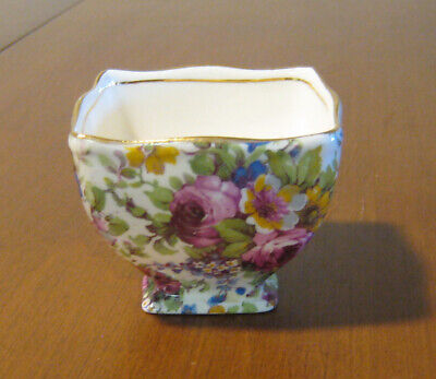 $ CDN15 • Buy Vintage Royal Winton Grimwades Chintz Summertime Footed Sugar Bowl England
