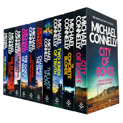 Michael Connelly Harry Bosch Series 10 Books Collection Set NEW  • 31.99£