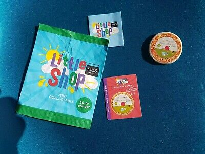 Marks And Spencer Little Shop Mini Collectables PIZZA Pizza Is Unopened • 0.99£