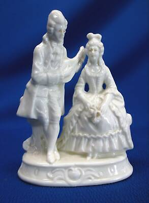 $ CDN39.53 • Buy Ernst Bohne White Porcelain 18th Century Dressed Courting Couple Figurine