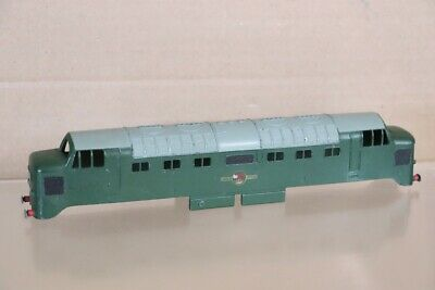 £44.50 • Buy HORNBY DUBLO 3232 BODY ONLY For BR GREEN DELTIC LOCOMOTIVE EXCELLENT Nx