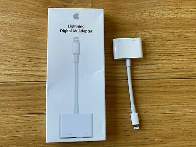 Official Apple Lightning To HDMI Digital AV Adapter - IPhone/iPad • 36.99£
