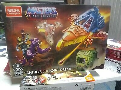 $72 • Buy Mega Construx Masters Of The Universe Panthor At Point Dread