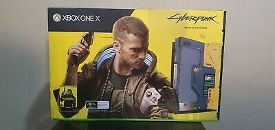 AU520 • Buy Xbox One X Cyberpunk 2077 Limited Edition Console