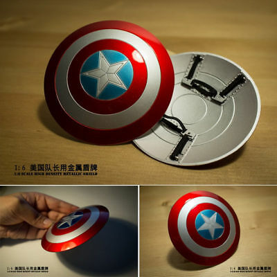 $ CDN37.68 • Buy 1/6 Captain America Metal Shield Can Buckle Hand F 12'' Action Figure Hot Toys