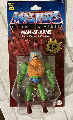 $25.55 • Buy Masters Of The Universe Origins Man-At-Arms Walmart Exclusive 2020
