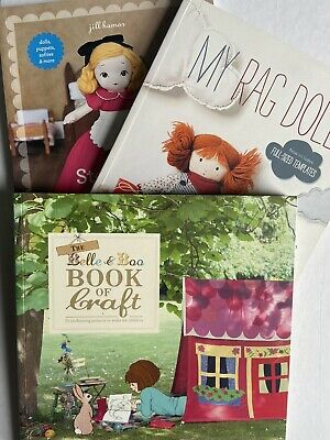 Craft Book Bundle Sewing Books Dollmaking Books Belle & Boo • 10£