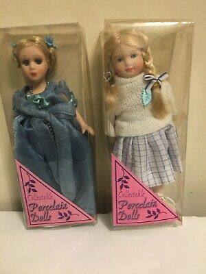 $ CDN12.67 • Buy 2 Victorian Porcelain Doll -  Collectible Porcelain Dolls -  New In Package