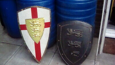 Suit Of Armour Shields Re-enactment...English Knight. • 45£