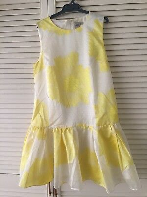 AU29 • Buy ASOS Print Sunflower Skate Dress Size 14