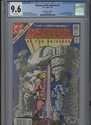 $239.99 • Buy Masters Of The Universe #2 Nm 9.6 Cgc Canadian Price Variant Highest Graded 1 Of