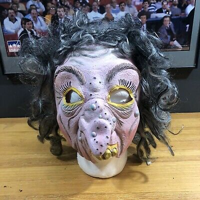 $ CDN53.99 • Buy SPEARHEAD IND INC Vintage WITCH  Rubber Halloween Mask Rare