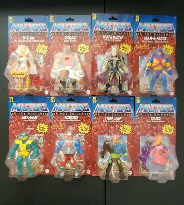 $130 • Buy 2020 Masters Of The Universe HE-MAN & SKELETOR Origin Retro Play Mattel Set Of 6