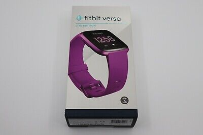 $ CDN106.67 • Buy Fitbit Versa Lite Edition Smart Watch - Light Mulberry
