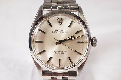 $ CDN3753.54 • Buy Vintage 1940's Rolex Oyster Perpetual #6564 25 Jewels Men's Watch # Ws698
