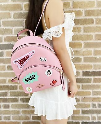 $ CDN172.94 • Buy Kate Spade Archie Comics Betty & Veronica Medium Backpack Pink Limited Edition