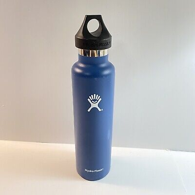 $10.19 • Buy Authentic Hydro Flask Insulated Bottle 24oz Ounce Blue Used Scratches