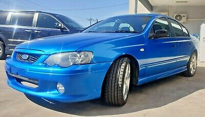 AU7350 • Buy 2003 Ford Falcon XR6 Turbo BA Blue With Roadworthy Certificate RWC & 12PSI TUNE