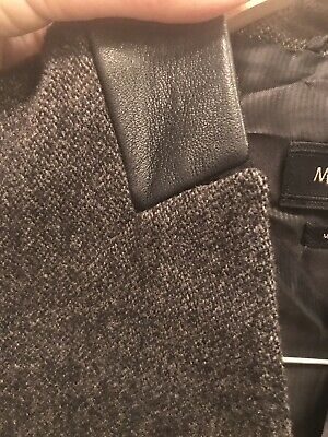 AU50 • Buy Blazer Massimo Dutti As New Size 36 Eur 100% Wool And Leather Applications