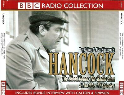 £3.99 • Buy Hancock: The Blood Donor, The Radio Ham & Two Other TV Episodes (3CD 2003)