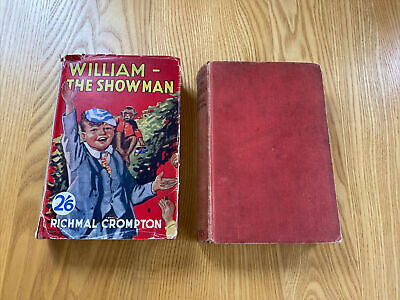 WILLIAM THE SHOWMAN BY RICHMAL CROMPTON 1937 EDT William & The Evacuees 1940 • 4.99£