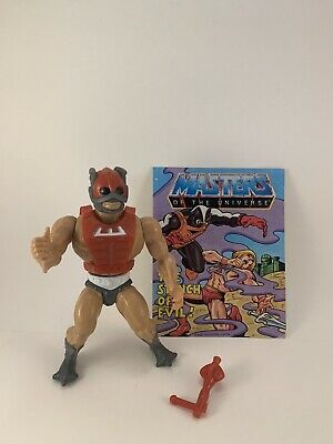 $14.50 • Buy Vintage Masters Of The Universe He-man Figure,lot, ZODAK COMPLETE, 1982 WIDEFACE
