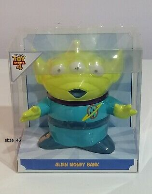 Disney Pixar Toy Story 4 Alien Ceramic Piggy Bank Money Box Primark Brand New • 9.99£
