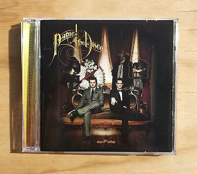 PANIC! AT THE DISCO - Vices & Virtues CD 2011 • 5.51£