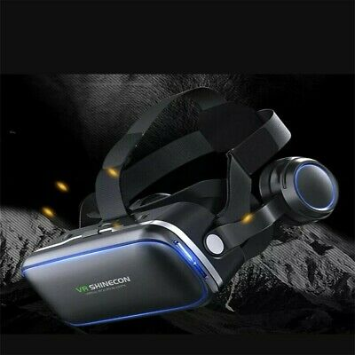 AU37.86 • Buy Remote Control+3D Glasses Goggles Mobile Phone 360° VR Virtual Reality Headset