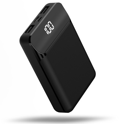 AU16 • Buy Power Bank 10000mAh Fast Charge W/USB-A/USB-C Portable Battery Charger For Phone