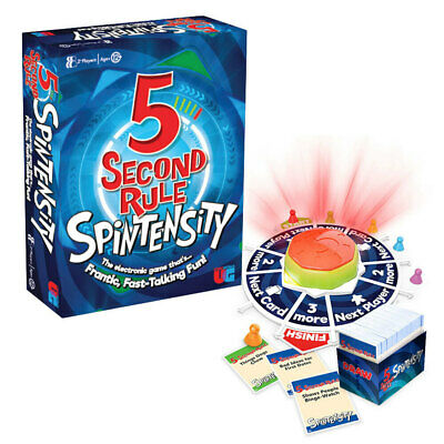 AU26 • Buy U Games 5 Second Rule Spintensity Fun Family Game Toy 2 Players Adults/Teen 12y+