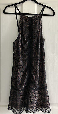 AU65.99 • Buy Alice McCall Designer Size 10 AU Black Lace Mini  Party Dress NWT. RRP $295.00