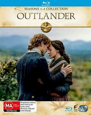 AU96 • Buy Outlander Series Complete Season 1-4 1 2 3 4 NEW Blu Ray BOX SET