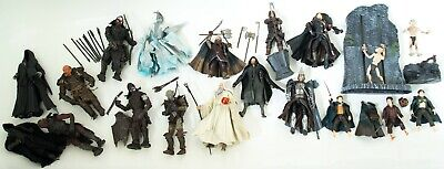 Marvel Lord Of The Rings 21 Action Figure Bundle Sauron Orc Gimli Gandalf Nazgul • 109.99£