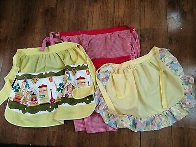 Vintage Pinny Apron Housewife St Michael's & Others 1950s 1960s Retro Original • 14£