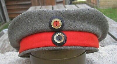 WW1 Military Imperial German FELDMUTZE Soft Cap JR49 Stamped 1918-Super Origin   • 330£