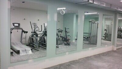 £45 • Buy Home Gym Frameless Acrylic Mirrors With Or Out Pre Drilled Holes 1000 X 500 4mm