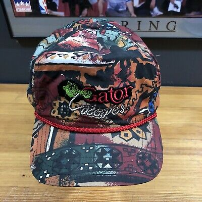 $ CDN99.99 • Buy Gator Ropes Made In USA Aztec Pattern Ranch Cowboy Rodeo Rare Unique Hat Q1