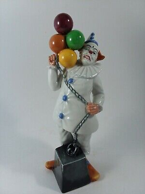 Royal Doulton Figurine BALLOON CLOWN 2894 9 1/2  Tall Made In England • 42.17£