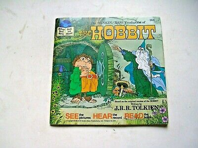 $9.99 • Buy THE HOBBIT Rankin/Bass Production Read Along Book And Record 33