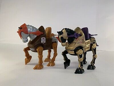 $39.99 • Buy He-Man MOTU Masters Of The Universe Battle Horse Stridor & Night Stalker  1983