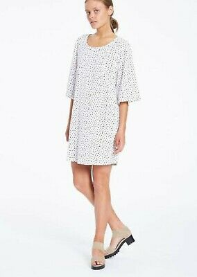 AU25 • Buy Zulu & Zephyr White Dot Dress Size 8
